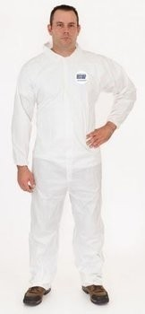 Enviroguard 8112 ValuGuard MP 50 Gram Microporous Coveralls with Open Cuffs