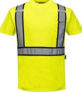 ab71fdb6 Portwest S395 Hi Vis Detroit Short Sleeved T-Shirt